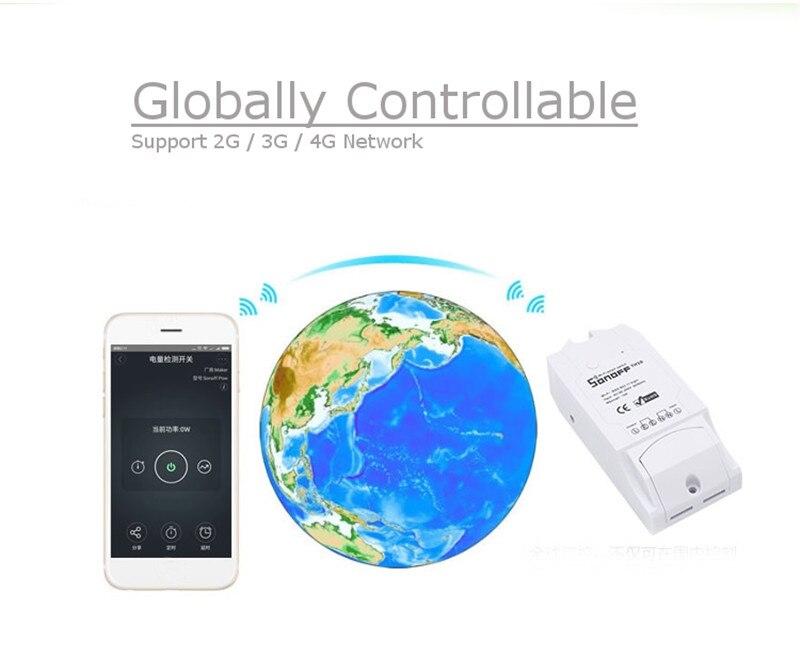 imágenes para Sonoff 16A/3500 W Pow Automatización Inteligente Inalámbrico Interruptor Del Módulo de Medición del Consumo De Energía En Tiempo Real para el Teléfono Inteligente