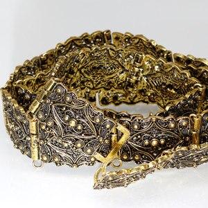 Image 5 - SUNSPICE MS Cổ Màu Vàng Kim Loại Dây Lưng Nữ Caftan Dây Maroc Cưới Thân Trang Sức Có Thể Điều Chỉnh Chiều Dài Dây Chuyền