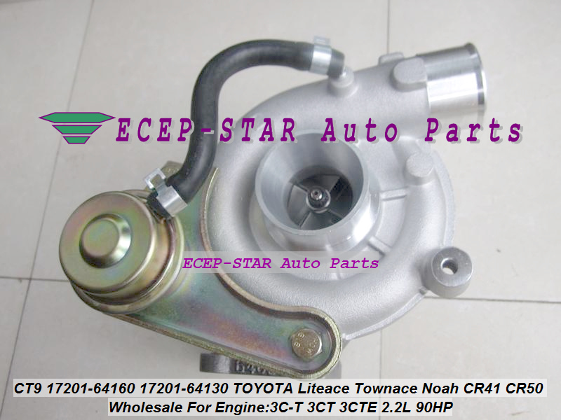 Free Ship CT9 17201-64130 1720164130 Turbo Turbocharger For TOYOTA Liteace Lite Town Noah CR41 CR42 CR50 CR52 3C-T 3CT 3CTE 2.2L