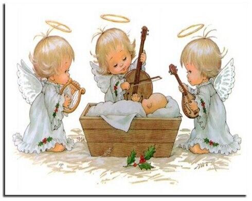 Купить вышивка три ангела