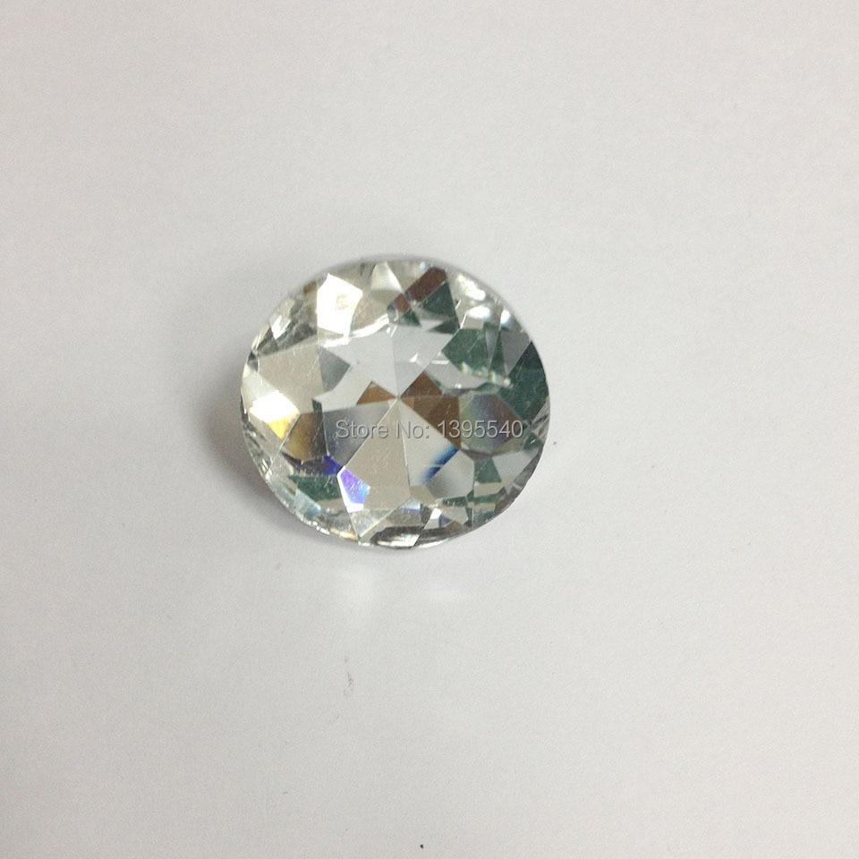 Nieuwe 30mm Crystal Glazen Knoppen Voor Sofa Industrie Decoratie Zachte Steen Bloem Crystal Knoppen Ktv Muur Decoratieve Gesp