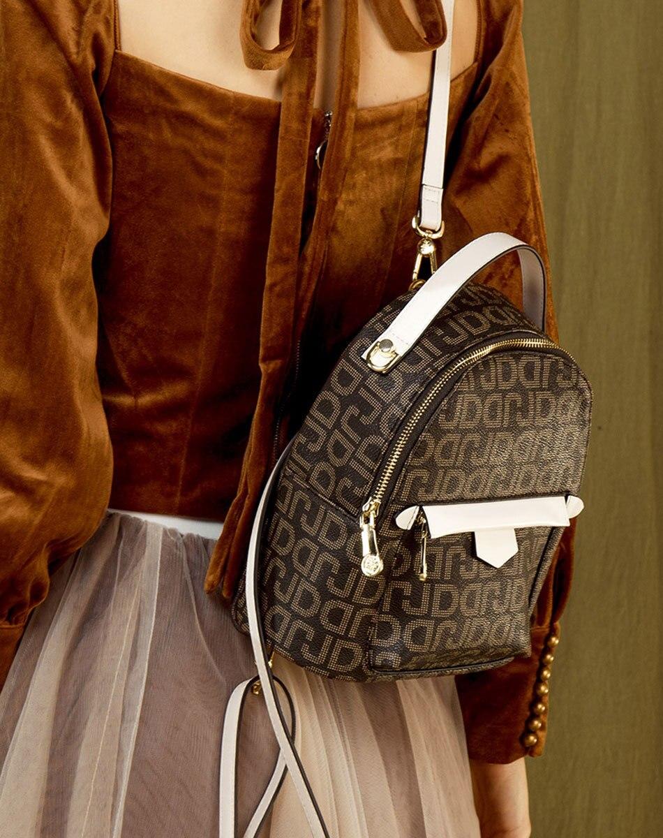 8 couleur sac à dos sac à langer mini toile sac à dos pour filles sac à dos à bandoulière M61692 190514 jia