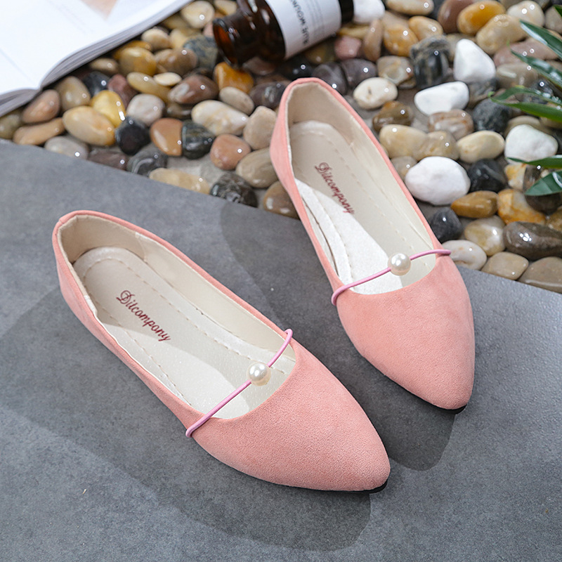 Shoes For Women Ladies Slip On Flat Sneakers Casual Shoe Solid Fashion Loafer frosted face pointed plain flat single shoe Female roxy women s lido iii b slip on shoe flat