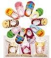 Venda quente de verão meia meias para recém-nascidos bebê kawaii Animal dos desenhos animados lace enfants chaussette algodão meia antiderrapante Piso meia