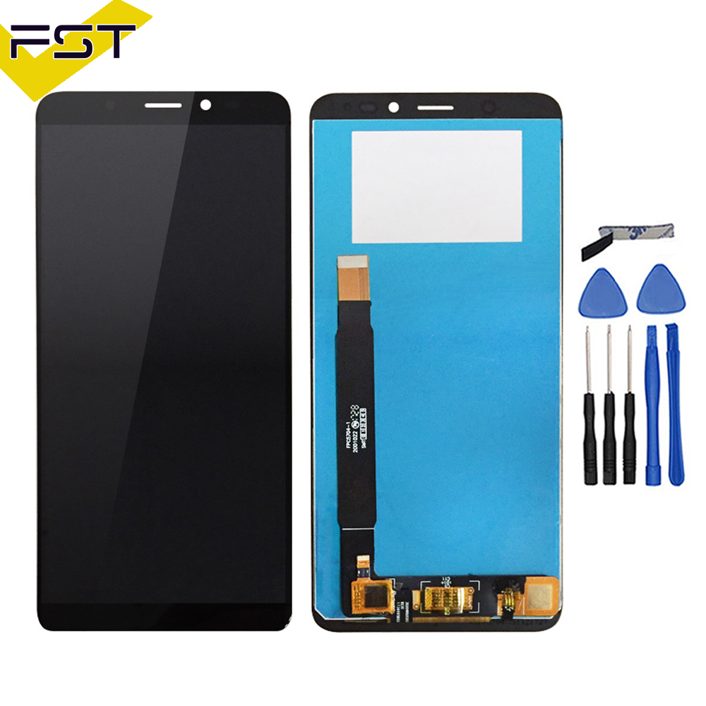720*1440 For wiko view LCD Display and Touch Screen 5.7'' Assembly Mobile Phone Accessories For wiko view With Tool And Adhesive