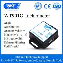 WitMotion WT901C Độ Chính Xác Cao 9 TRỤC AHRS Inclinometer Gia Tốc + Con Quay + Góc Nam Châm Trường (XYZ ), cung cấp MÁY TÍNH/Ứng Dụng Android