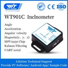 WitMotion WT901C acelerómetro inclinómetro AHRS de 9 ejes de alta precisión + giroscopio + ángulo + campo magnético (XYZ), proporciona aplicación PC/Android