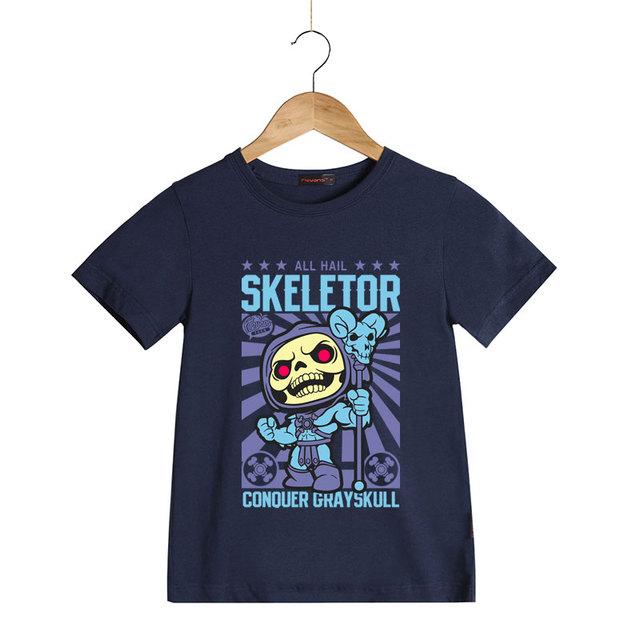 d47982fbe4e He-Man Masters of The Universe T Shirt for Kids Boys Girls Short Sleeve  Skeletor Cartoon T-shirts Summer Children Brand Tee Tops
