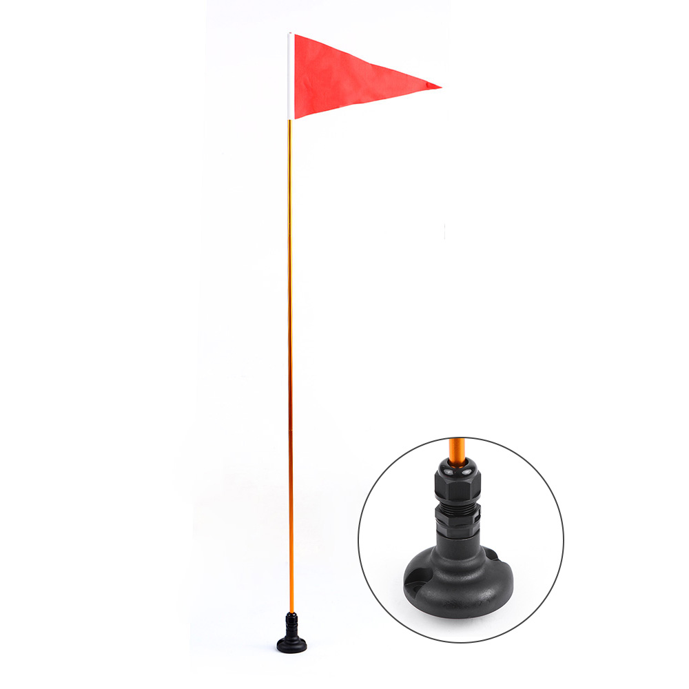 US $13 36 48% OFF|Kayak Safety Flag Flag Pole Mount Base Surfing Mount Kit  Universal Kayak DIY Accessories for Boat Canoe Yacht Dinghy-in Rowing Boats