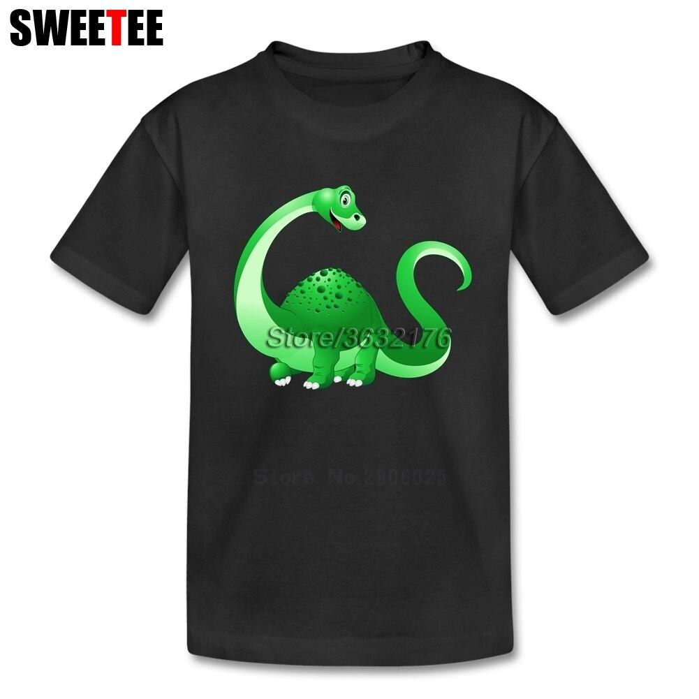 The Good Neck Costume Sleeve Infant Children Cotton Kid Dinosaur T Shirt 2018 T-shirt For Boy Pure Baby Tshirt Short Round Girl