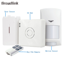 Broadlink S2 Kit Security Alarm Detector Motion Door Sensor Remote Control for Home Automation