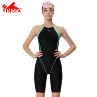Yingfa VaporWick One Piece Competition Kneeskin Waterproof Chlorine Low Resistance Women S Swimwear Sharkskin Swimsuit