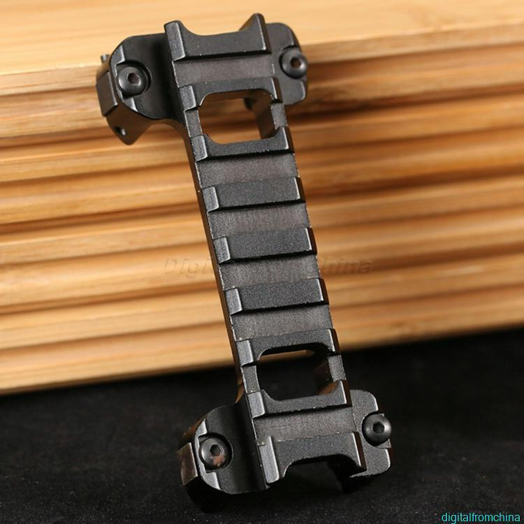 Easy To Hook Up 20mm Weaver Mounting Scope Attachment For MP5 G3 Series Airsoft Wholesale Hunting