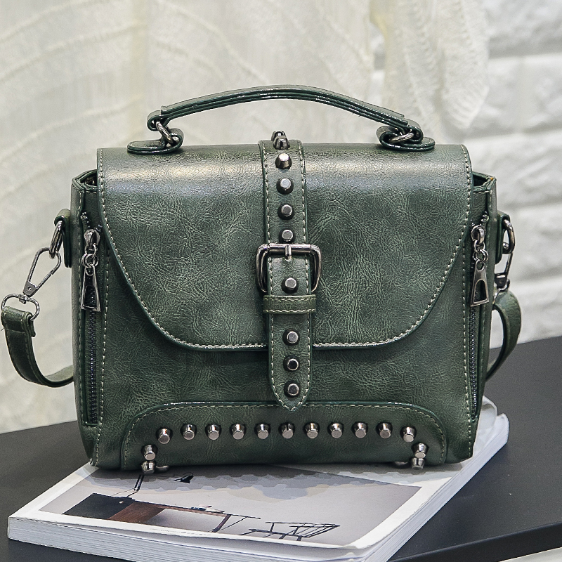 2019 Nuevas Mujeres Messenger Bags Vintage Bag Ladies Crossbody Bolsa - Bolsos - foto 3