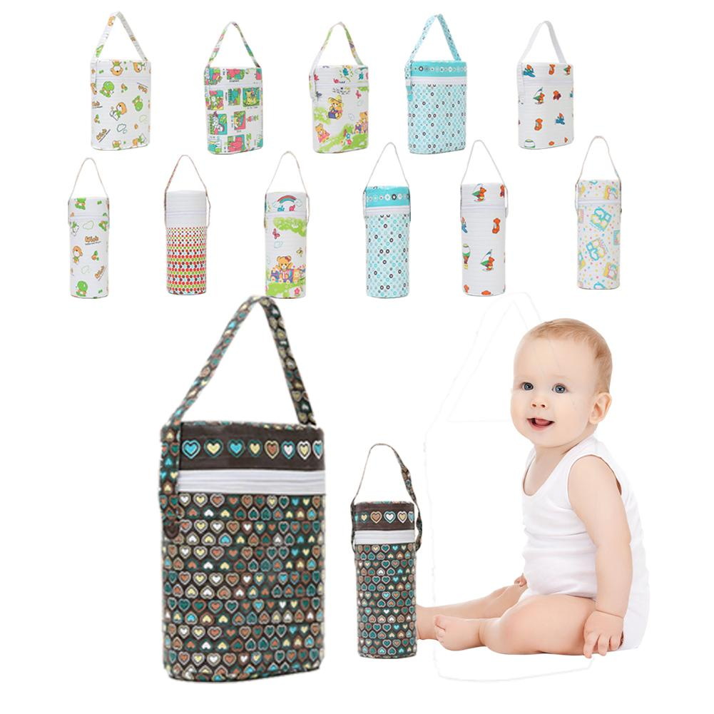 Baby Bottle Insulated Bag Breast Milk Storage Fresh-keeping Cup Single Barrel Double Barrel Handle Design For Easy To Carry
