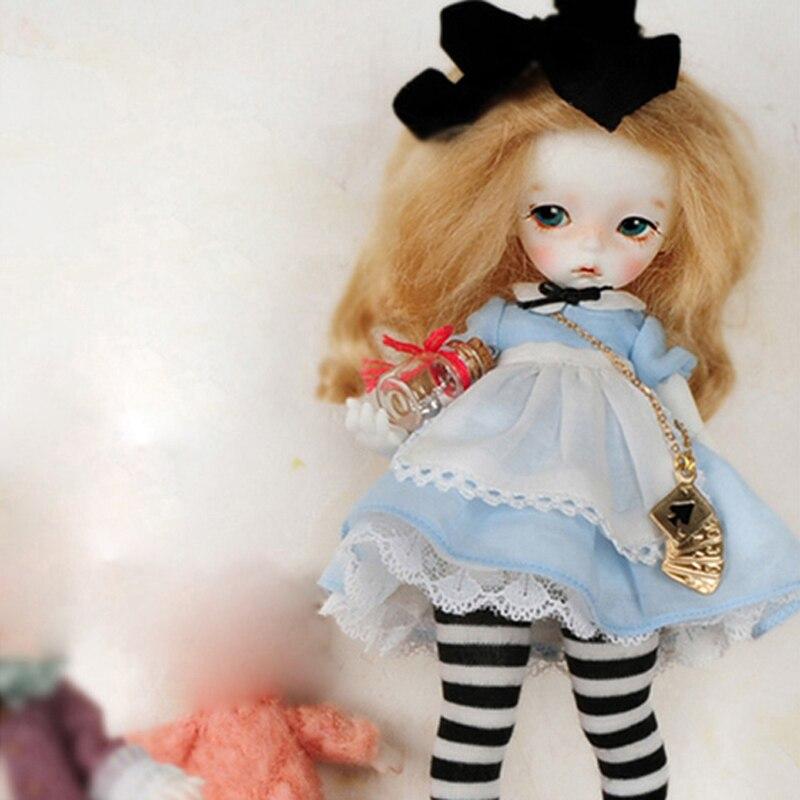 New Arrival 1/8 BJD Doll BJD/SD BB Cute Sooms Imda1.7 Anne Doll Resin Joint Doll For Baby Girl Birthday Gift