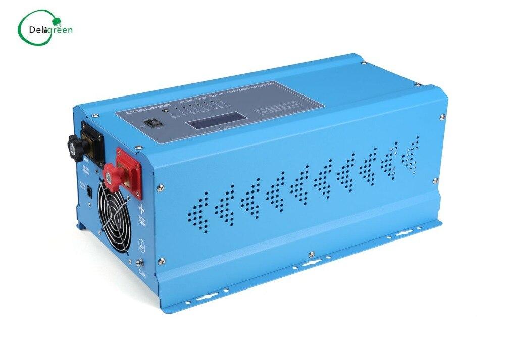 цены  2000W Off Grid Pure Sine Wave Inverter 12/24/48V to 100/110/120/200/230/220V  Power Inverter 2000W LED Display