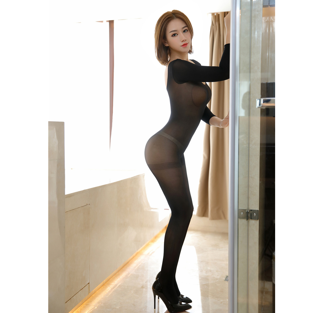 Porno Nuisette Bodystocking Sexy Lingerie Baby <font><b>doll</b></font> Plus Size Open Crotch Women Sexy Lingerie Hot <font><b>Sex</b></font> Erotic Costumes Dress image