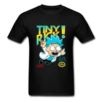 Vintage T Shirts Men Round Collar Let Me Out Short Sleeve Tshirs Great Discount Rick Morty