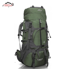 LOCAL LION 65L Outdoor Backpack Camping Climbing Bag Waterproof Mountaineering Hiking Backpacks Sport Rucksack