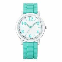 2017 New Ladies Womens  Analog Silica Jelly Gel Quartz Sports Wrist Watch Gift  oct.11 good sell Relojes de mujer