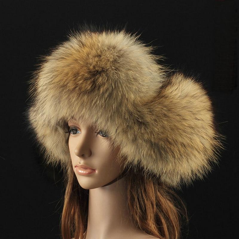 Luxe Sibir Style Kürk Şapka Rus Yenotekası Qadınlar Üçün Tam - Geyim aksesuarları - Fotoqrafiya 3