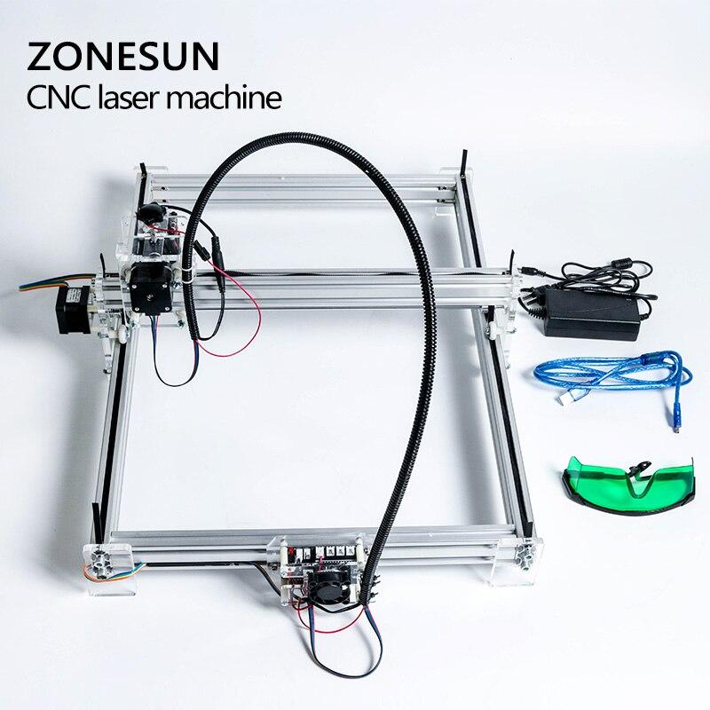 5500mW Desktop DIY Violet Laser Engraving Machine Picture CNC Printer Maximum Engraving Area 35*50CM - 6
