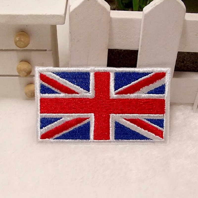 Great Britain Embroidered GB National IronSew On PATCH