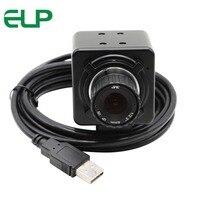 Caixas pretas Megapixel 720 P CMOS OV9712 H.264 CCTV Segurança Webcam Foco Manual Mini USB câmera Web com microfone para pc