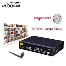 2 pcs 1 Year Europe clines Freesat V8 super satellite font b TV b font FTA