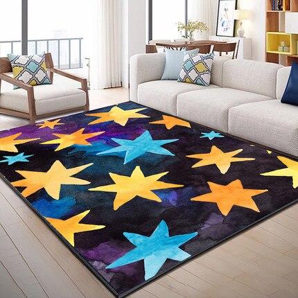 Cartoon Childrens Carpet Custom Princess Baby Crawling Mat Room Bedside Blanket Livingroom Bedroom Puzzle Washable