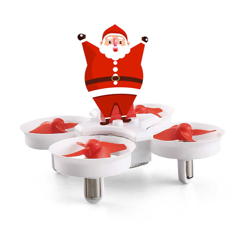 Eachine E011C H67 Flying Santa Claus With Christmas songs Music Mini 2.4G Toy RC Quadcopter RTF for Kids Gift Present Mode2