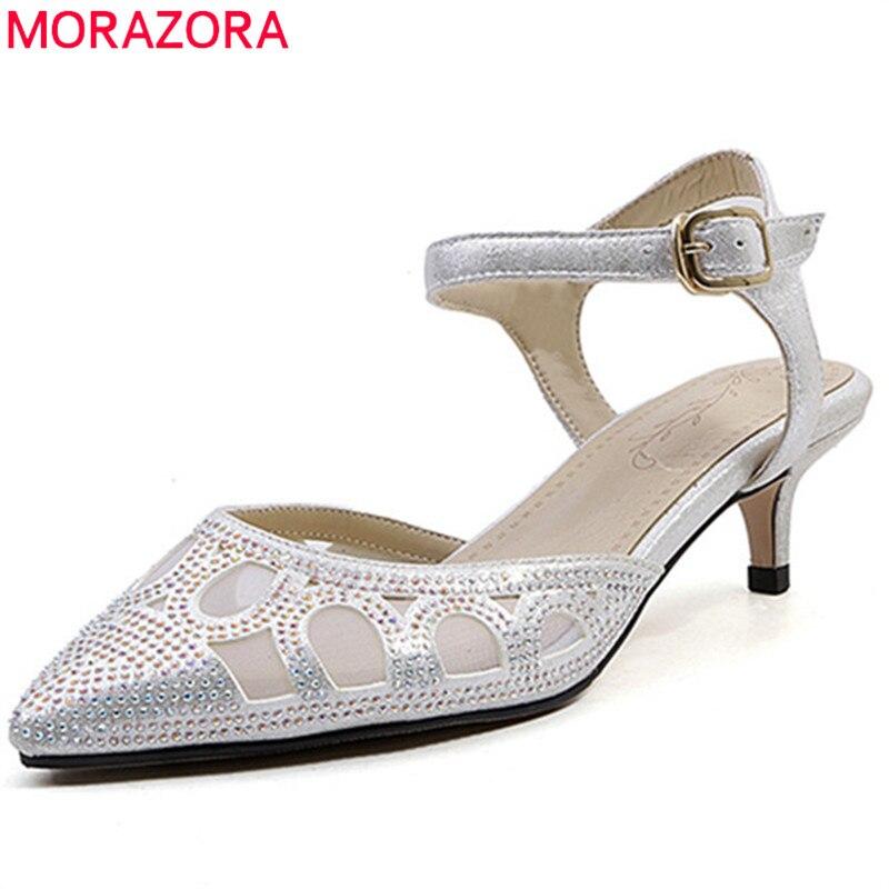 a7e283a73c0e0b Dames Partie Pointu Nouvelle Minces Talons Arrivée Morazora 2018 33  Creusent 43 Des Chaussures Sandales argent Or Boucle Taille Femmes D'été  7Pxqz5fwz