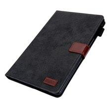 """Étui pour Samsung Galaxy Tab A 10.1 2019 étui SM T510 SM T515 T510 T515 10.1 """"Canva cuir Smart Folio support tablette couvre Capa"""