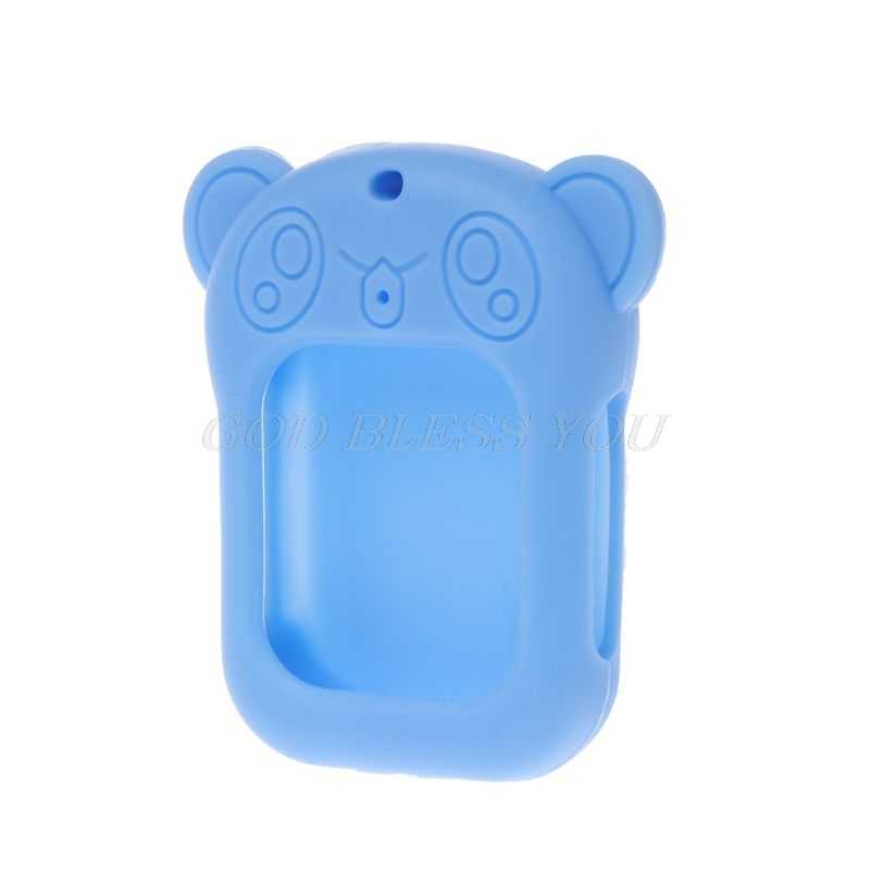 Protective Cover Soft Silicone Cute Cartoon Waterproof Shockproof Anti-Lost Strap for Q90 Baby Children's Watch Smart Accessorie