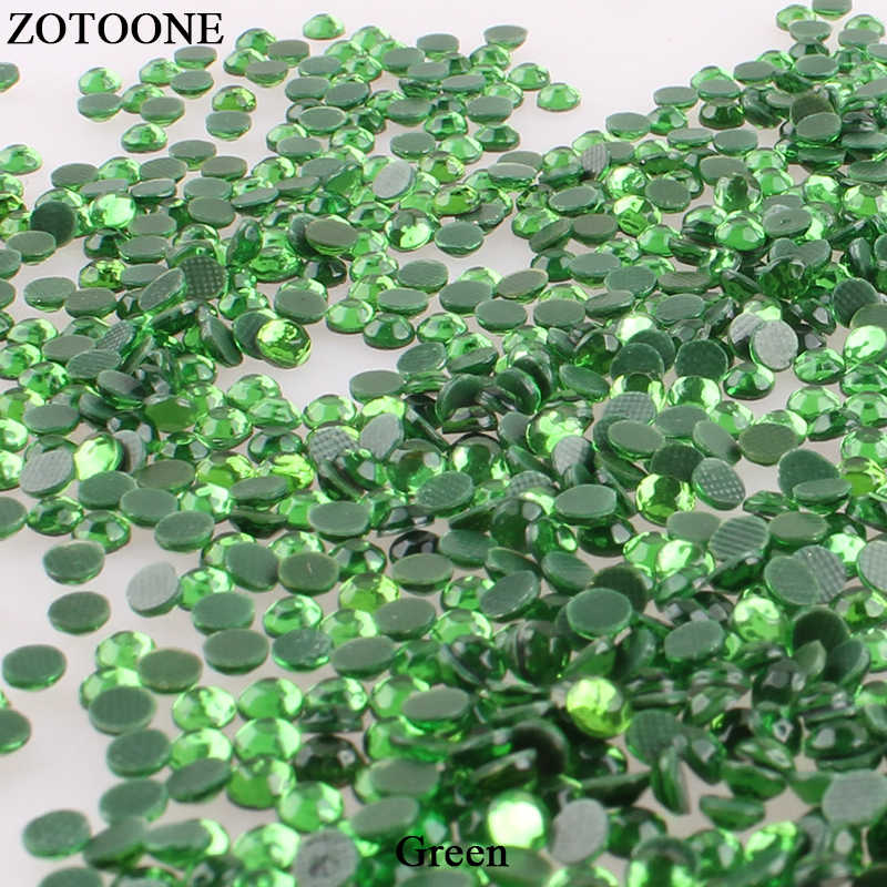 1b501c6d80 Detail Feedback Questions about ZOTOONE Green Resin Hot Fix ...
