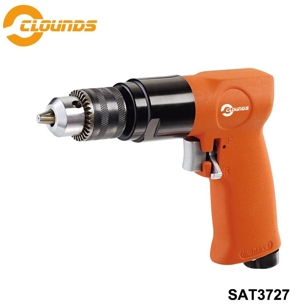 SAT3727 1/2 700rpm Pneumatic Drill Reversible Air Drill ToolsSAT3727 1/2 700rpm Pneumatic Drill Reversible Air Drill Tools