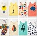 2016 verano bobo choses MISMO niños camisetas de la ropa de marca niños bebé garcon reine des neiges enfant vetement fille VESTIDOS