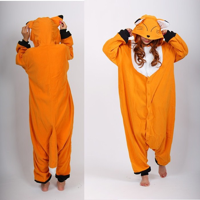 a51d8aff47f9 Sexy Fox Animal Onesies Pajamas For Adult Women s One Piece Onesies Pajamas  Set Hooded Onesies Cute Onesies Pajamas