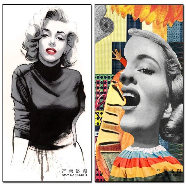 Completo, Diamante Bordado Marilyn Monroe 5d, pintura del diamante ...