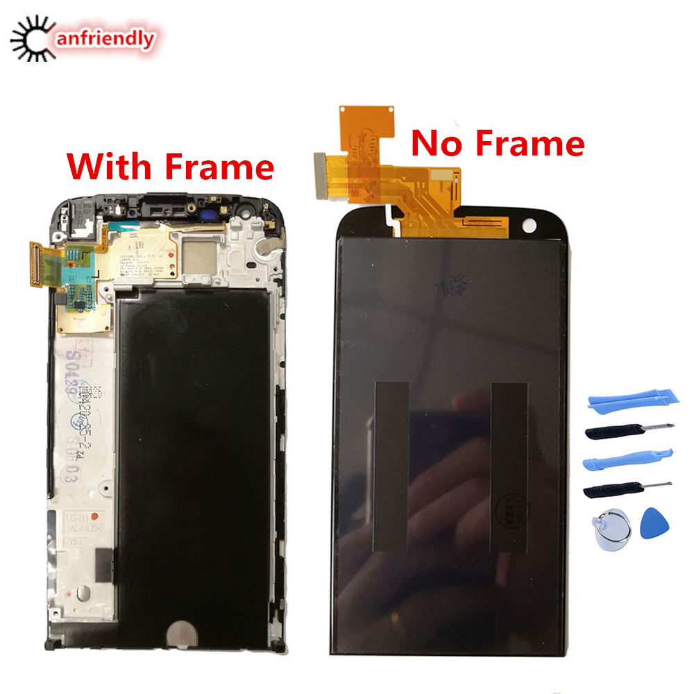 LCD for LG G5 G 5 LCD 5.3 Display For LG G5 LCD H850 H840 H860 Touch Screen Digitizer Assembly WITH FRAME Replacement Panel