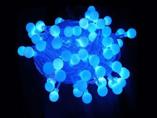 Fée 100 m 600 LED luminaria décoration guirlande boule chaîne lumières noël nouvel an vacances fête mariage luminarias lampes - 3
