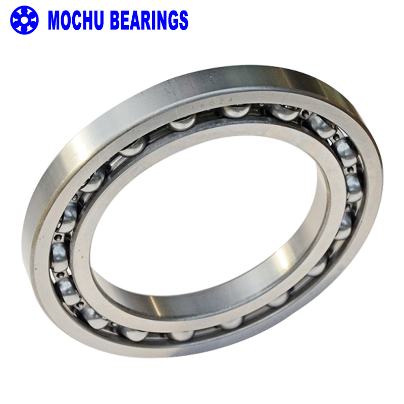 1pcs Bearing 16024 7000124 120x180x19 MOCHU Open Deep Groove Ball Bearings Single Row Bearing High quality 6007rs 35mm x 62mm x 14mm deep groove single row sealed rolling bearing