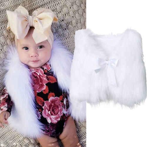 Детская верхняя одежда для маленьких девочек зимняя теплая блуза с талией безрукавка жилет пальто AU