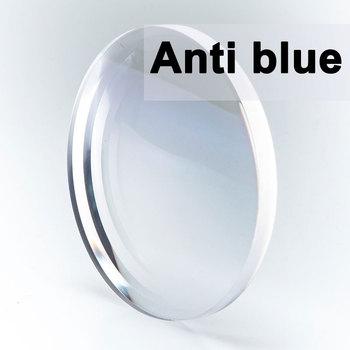 Niestandardowe para soczewka optyczna blokujące niebieskie światło GREEN-EMI recepta krótkowzroczność prezbiopia odporna na zarysowania 1 56 1 61 1 67 tanie i dobre opinie CCspace Cr-39 WOMEN Anti-Blue Ray UV400