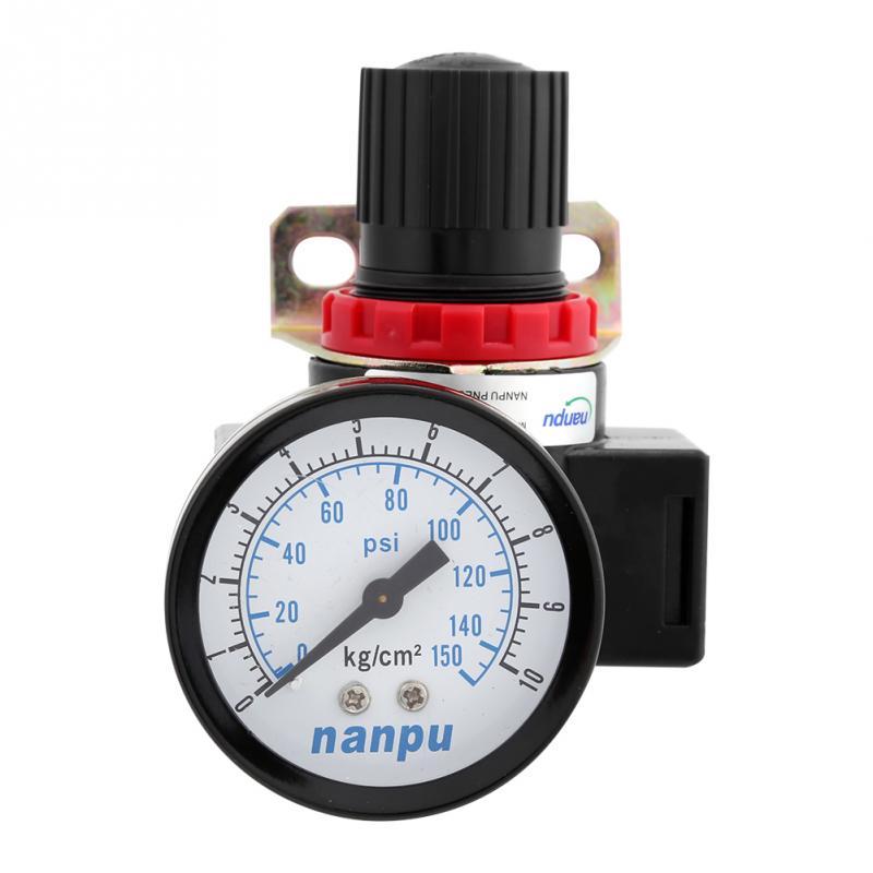 Heimwerker Systematisch Br3000 G3/8 luftsteuerung Kompressor Druckregel Regelventil Mit Manometer 0,05 ~ 1mpa Ventil