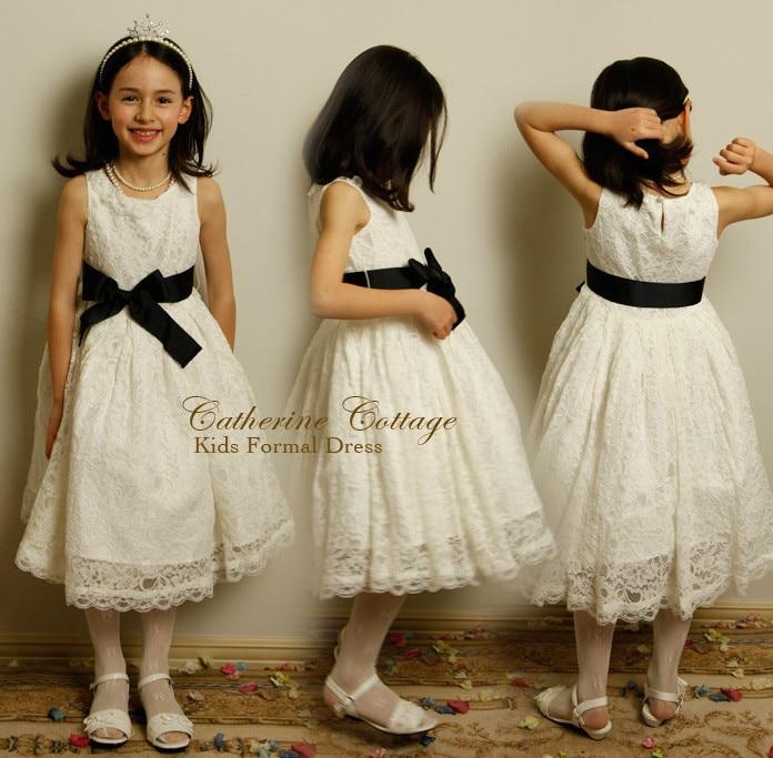 New girls wedding party dresses elegant baby girls kids princess fashion dresses Big bows Children dress clothing meninas vestir muqgew new fashion 2018 children party