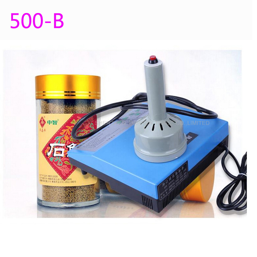 1PC New 500B Portable induction sealing machine aluminum foil capper Honey Packaging Equipment (10mm-90mm)1PC New 500B Portable induction sealing machine aluminum foil capper Honey Packaging Equipment (10mm-90mm)