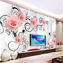 beibehang pattern circle photo wallpaper for walls 3d TV bac