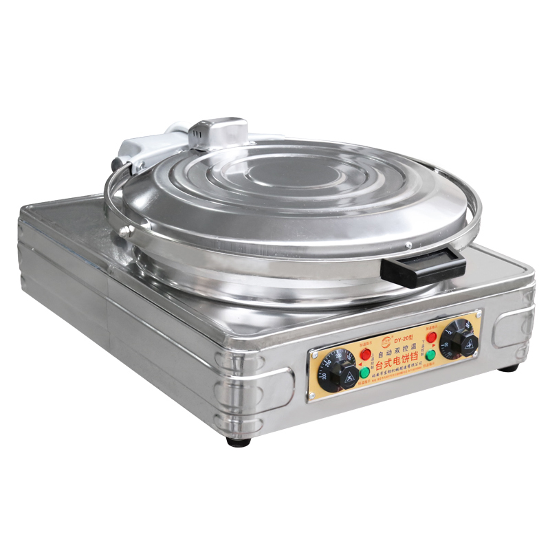 household electric baking pan pizza machine pancakes pancake pot scone oven DY-20 jiqi electric baking pan double side heating household cake machine flapjack pizza barbecue frying grilling plate large1200w